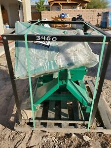 """wood chipper, 4"""" capacity, PTO drive ,TMG brand, green color, new never used"""