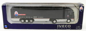 New-Ray 1/87 Scale Model Truck Transporter 47033 - Iveco Stralis - Maserati