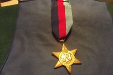 Ww Ii Canadian Medal The 1939-1945 Star With Ribbon