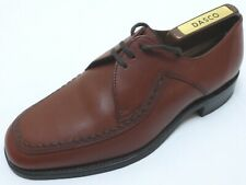 MINT! LOAKE ENGLAND LUXURY LEATHER DERBY COUNTRY SHOES { BROGUES VELDTSCHOEN } 6