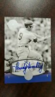 2004 RANDY HUNDLEY Auto SP #51 UD Timeless Teams  Short Print  !