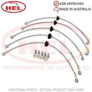 HEL Performance Braided Brake Lines - Fiat 124 1.8 Sport Coupe