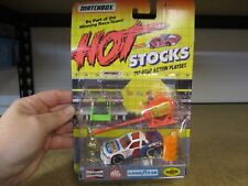MATCHBOX HOT STOCKS PITSTOP PLAYSET RACING TEAM #1 DIECAST NEW FAST SHIPPING