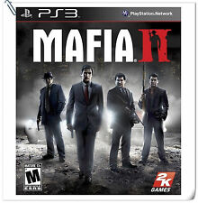 PS3 Mafia II 2 SONY PlayStation 2K Action Games