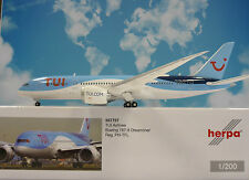 Herpa Wings 1:200 Boeing 787-8 Dreamliner Tui Airlines ph-tfl 557757