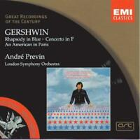 André Previn - Gershwin: Rhapsody In Blue; Concerto In F; An American I (NEW CD)