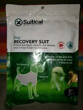 NEW unused dog Suitical Recovery Suit Small Plus S + Black post surgery suit