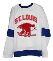 Any Name Number Size St Louis Eagles Retro Custom Hockey Jersey White