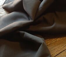 Carboncino Colore Misto Lino Tessuto per Arredi e Fodera 137 cm 350g/m