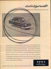 Opel-Rekord-V-54-Reklame-Werbung-genuine Advert-La publicité-nl-Versandhandel