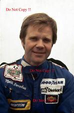 Mark Donohue Penske F1 1975 fotografía de retrato