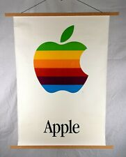 Original Apple Computers Poster circa 1985