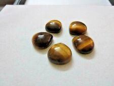 Natural Golden Tiger Eye Heart Shape Cabochon Loose Gemstone 21 mm To 25 mm