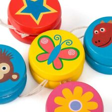 Tobar Mini Wooden Yoyo Traditional Entertainment Toy Kids Adults Classic Novelty