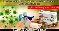 Ceylon Herbal  Soap 100% Organic Extra Virgin Coconut Oil Hand Crafted (100g)