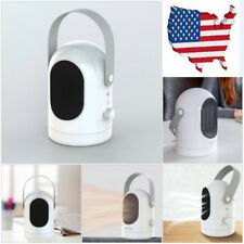 US Portable Electric White  Heater Fan Home Office Winter Air Heating Machine
