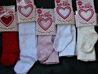 BABY GIRL PATTERNED TIGHTS VARIOUS SIZES AND HUGELY POPULAR