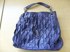 "Ladies Handbag Fiorelli purple tote, stunning detail, 14x12x5"" plus handle, 3251"
