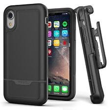 Encased iPhone XR Belt Clip Holster Case Heavy Duty Protective Cover Rugged case