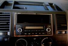D VW T5 Chrom Rahmen für Radio ( Doppel DIN Schacht ) - Edelstahl poliert