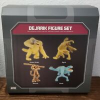 Disney Parks Galaxy's Edge Star Wars Dejarik Figure Set of 4 Kintan Strider #1