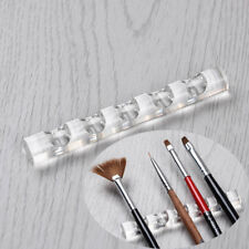 Nail Art Brush Pen Holder Rest Stand Shelf Display Carrier Rack Acrylic Tools