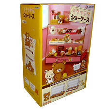Rare! Re-ment Miniature Rilakkuma Cake, Bread, Food Display Showcase Cabinet