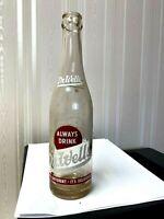 Vintage Soda Pop Beverage Bottle  - ACL -  Dr. Wells, Conroe, Texas