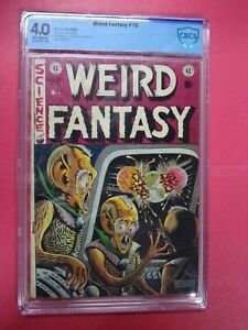 WEIRD FANTASY #16 CBCS GRADED 4.0 VERY GOOD OFF-WHITE PAGES 1952 EC COMICS