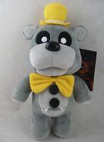"New Exclusive Gray Freddy Funko FNAF Five Nights at Freddy's 12"" Plush Toy Doll"