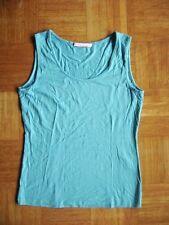 @ BASLER @ alta calidad Camisa de color turquesa sin mangas Básico Talla S Gr 36