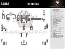 Fits Infiniti QX56 2004-2007 Large Premium Wood Dash Trim Kit