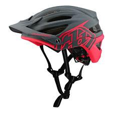 Troy Lee Designs A2 MIPS Decoy Mountain Bike Helmet Dark Gray/Fluorescent Pink