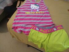 Women's 2 piece Hello Kitty set. Large New/Preowned