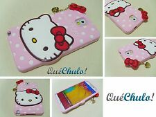 FUNDA CARCASA SILICONA PARA SAMSUNG GALAXY NOTE 3 N9000 HELLO KITTY MIX + FILM