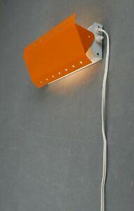 E S HORN Mod 564 Wall Lamp Danish Modern Vintage Orange Eames Panton 60s 70s 80s