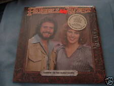 VINTAGE LP ALBUM FRIZZELL & WEST CARRIN' ON THE FAMILY.