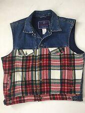 Gap Jeans Wear Vest Women's Size XL