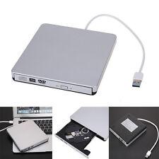 USB3.0 Slim External CD DVD-RW DVD Writer Drive Reader Player for PC Mac Laptop
