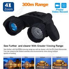 Night Vision Goggles Binocular IR Surveillance Camera Time Lapse GPS Stamp DVR