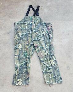 Cabela's Mens Sz 3XL Bib Overalls Camouflage Hunting Break Up Infinity Mossy Oak