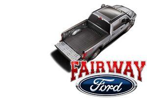17 thru 22 F-250 F-350 Super Duty OEM Ford Heavy Duty Rubber Bed Mat 6-3/4' Foot