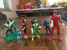 Mixed Lot Sizes & Series MMPR POWER RANGERS Loose 9 Figures Caketoppers Nice!