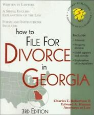 How to File for Divorce in Georgia: With Forms (Legal Survival Guides-ExLibrary