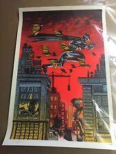 Tim Doyle Batman Poster Print Art Nakatomi Mondo Limited Edition Sold Out Rare