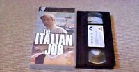 THE ITALIAN JOB Digitally Remastered UK PAL VHS VIDEO 2000 Michael Caine Mini