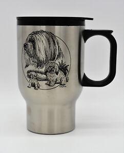 Toy Havanese Dog Coffee Tea Beverage Holder Mug Cup  Holds 14 Fl. Oz. 400ml