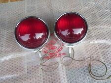HONDA CB450 P CL450 P CB750 P CB750 POLICE PATROL LAMP LIGHT PAIR GENUINE NOS JP