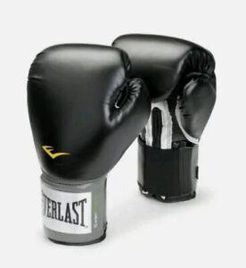 Everlast Boxing Pro Style Training Gloves Black 12 oz. Level 1 Adult Model 2312