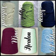 * Sale * Soft 4/2 Cotton Cone Yarn Last Color Choices Knit Weave Crochet